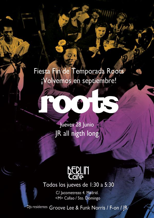 Roots descansa en verano. Volvemos en Septiembre!