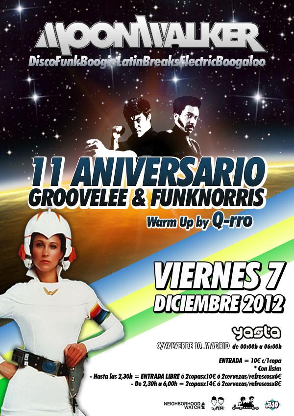 11 aniversario Groove Lee & Funk Norris