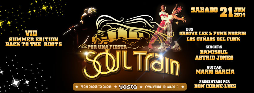 S21. Soul Train VIII. Summer edition. Back to the roots.