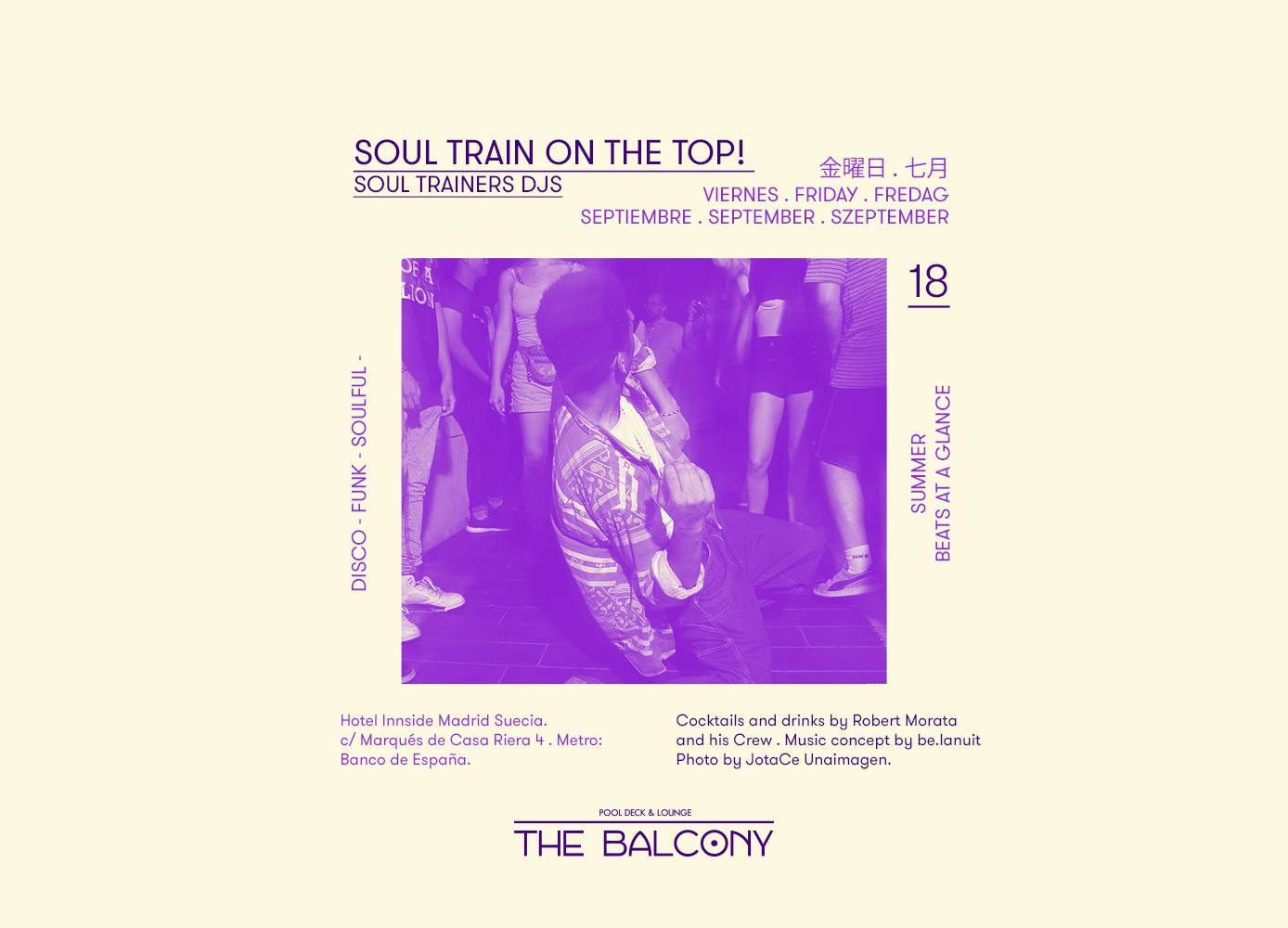 Soul Train On The Top @The Balcony