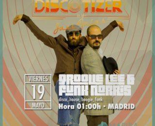 V19 mayo 2017. GL&FN @ Discotizer / Marula. Madrid
