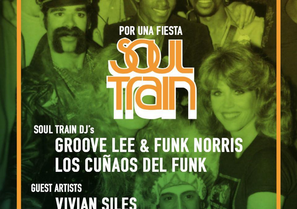 V25 Mayo 2018 – Soul Train XIX Edition @ bClub. Club Café Berlín. Madrid