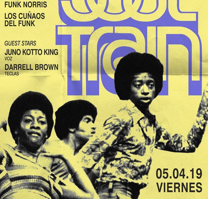 V5 abril 2019. Soul Train XXIV – berlinClub Madrid