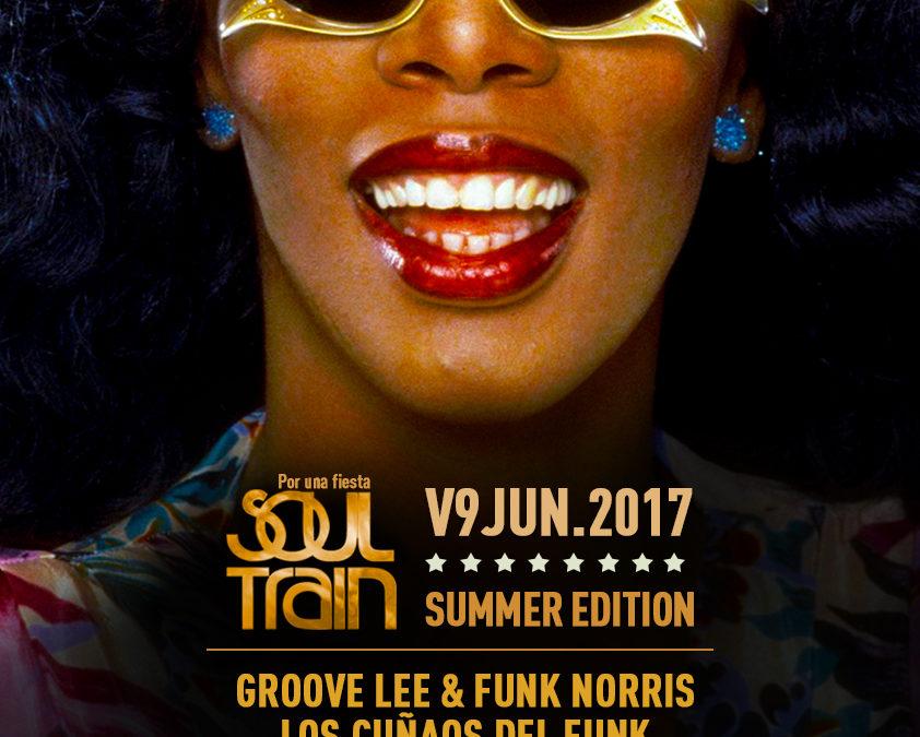 V9 Junio 2017. Soul Train Summer Edition @ Café Berlín