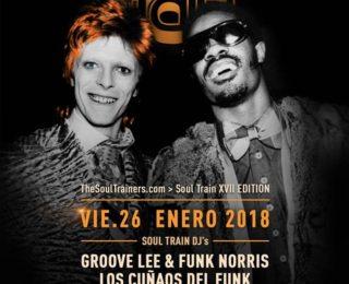 V26 enero 2018 – Soul Train XVII Edition @ The Club Café Berlín. Madrid