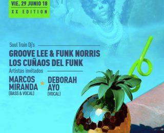 V29 Junio 2018 – Soul Train XX – Summer Edition – Berlin Club Madrid