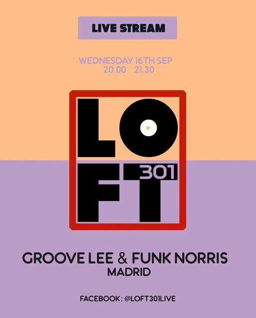 X16 Sept. Loft 301 – Live streaming dj set